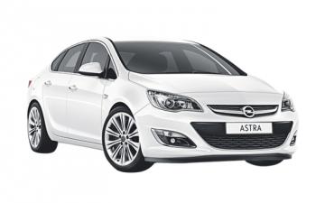 Забронировать Opel Astra АКПП 2015г
